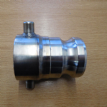 60x6mm Stainless IBC Adaptor to 2 inch Male Camlock